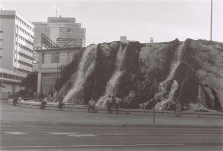 1986-1987. Malecon - вид на Habana Libre.