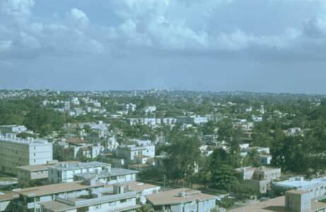 1974. Панорама района Мирамар