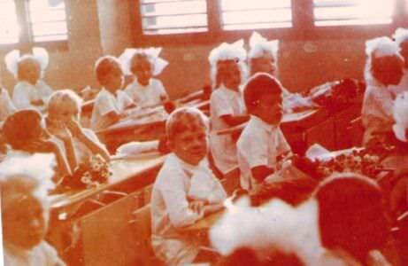 254. 1987-1989. В школе