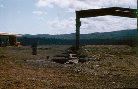 1984-1985. Закладка нового завода «Лас-Камариокас».