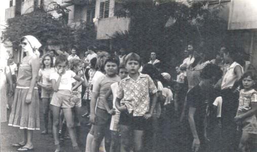 1983-1985. Около 10 дома. Лас Колорадос.