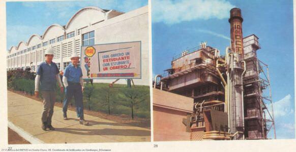 027. Fabrica del INPUD en Santa Clara; 028. Combinado de fertilizantes en Cienfuegos.