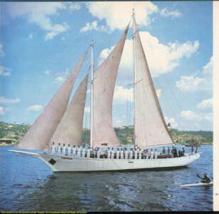 048. Embarcacion de entrenamiento «Gaviota» de la Acadeemia Naval del Mariel