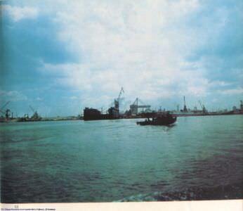 053. Dique florante en el puerto de La Habana