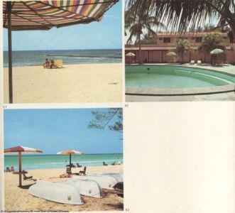 061,063 - La playa de Varadero. 062. Hotel «Oasis» en Varadero.