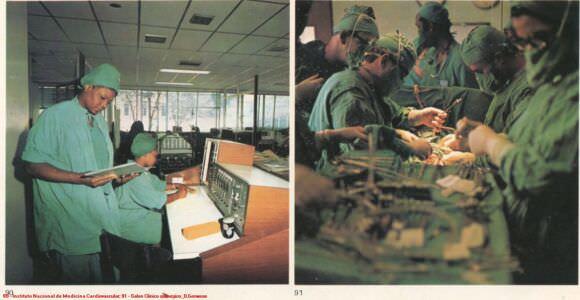 090. Instituto Nacional de Medicina Cardiovascular. 091. Salon Clinico quirurgico