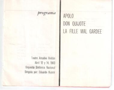 487. 1963-04-12. Лист 2. Программка.