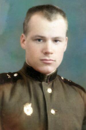 Павел Петрович Чесноков в учебной части