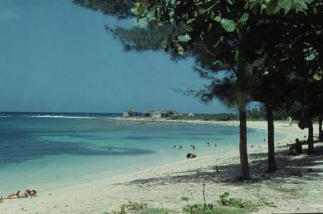 1975. Пляж «Подкова» (Playa la Herradura)