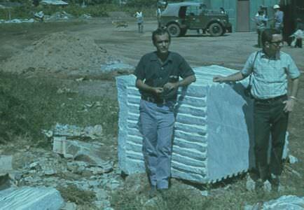 1975. Блок мрамора, остров Хувентуд (Пинос)