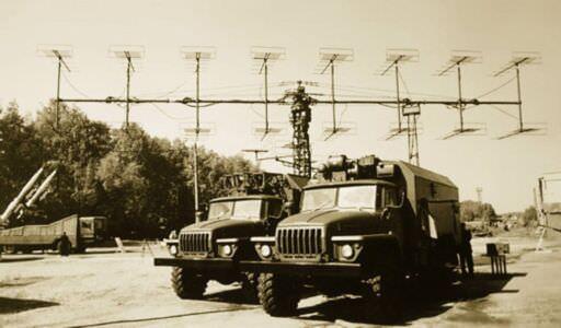 60. Не Куба. На заднем плане - радиолокационная станция П-18