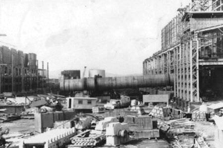 451. 1990. Стройка никелевого завода Лас-Камариокас, фото 8