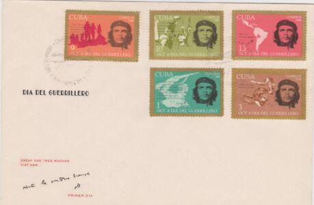 238. 1968. С филателистической выставки в Гаване. 3 конверт