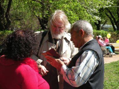 42. Спустя полвека встреча с Осмаито, который был в Бехукале переводчиком с кубинской стороны