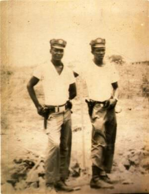 67. Курсант, обучаемый А.А. Плисюком в ПАРМ-1, Эдмундо (слева), фото 2