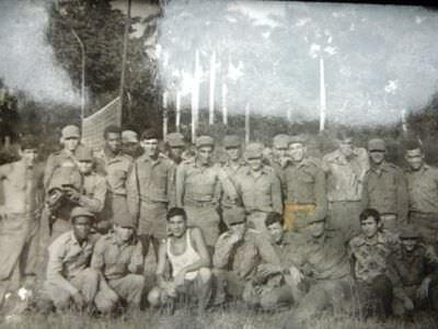 117. 1975-1976. Дружеская встреча с кубинскими военными, фото 2