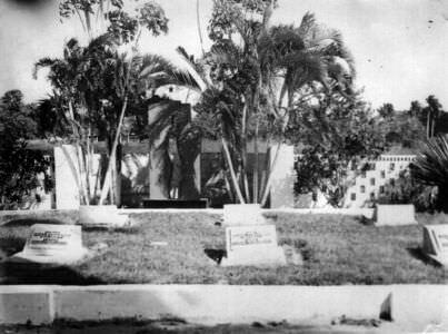 135. 1975-1976. Советское кладбище