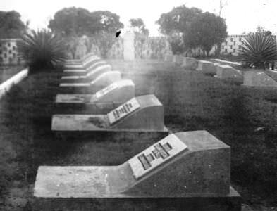 136. 1975-1976. Советское кладбище
