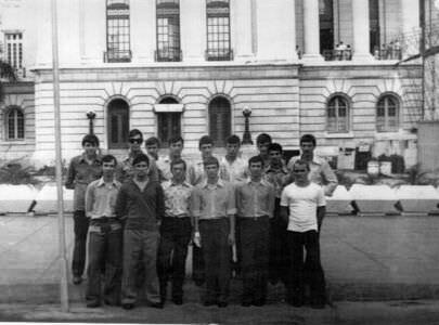 149. 1975-1976. В Гаване, коллективное фото