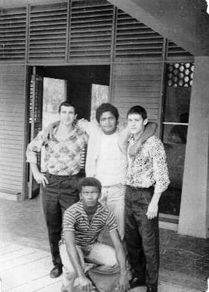 167. 1975-1976. На пляже Эль-Саладо