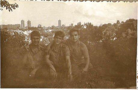 371. 1989-1990. Касабланка, вид сверху на центральную часть Гаваны