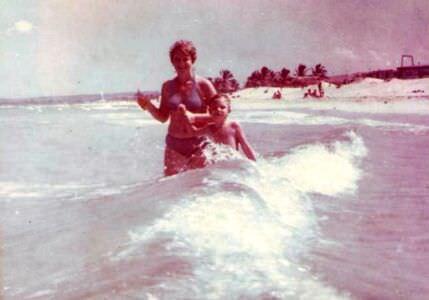 260. 1987-1989. На пляже, фото 1