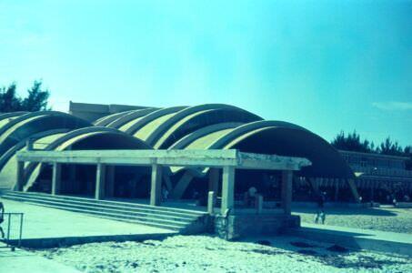 1968-1970. Пляж яхт-клуба в Наутико