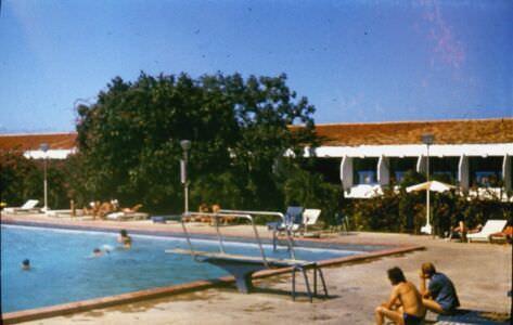 Гуардалавака. 1983-1985. У бассейна-3