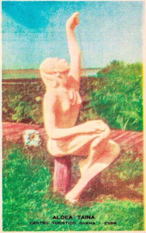 207. Индейская деревня, открытка 7