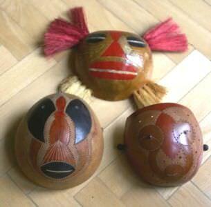 203. Три деревянные маски