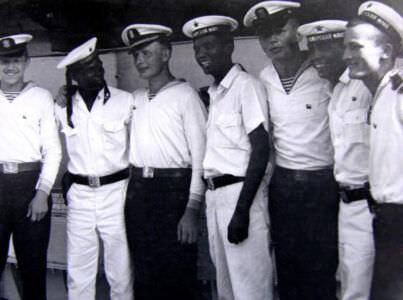 1969.07.21-26. На борту крейсера «Грозный» кубинские моряки