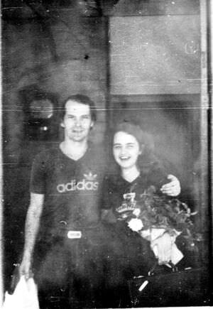 1982-1984. Март 1983. После регистрации брака (Анатолия и Инны) в Генконсульстве СССР г. Сантьяго-де-Куба.