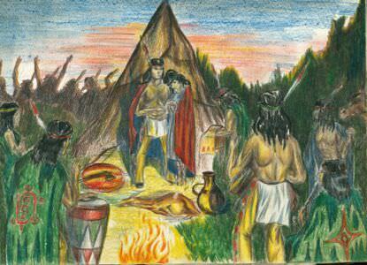 08. Из жизни индейцев, лист 7