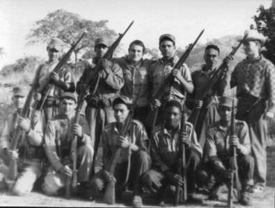 22. На границе внешней охраны полка. Общение с кубинскими военнослужащими