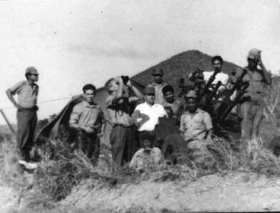 25. На границе внешней охраны полка. Общение с кубинскими военнослужащими