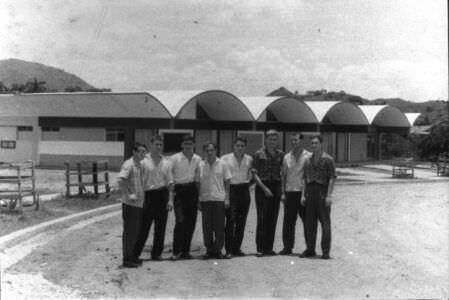28. Геодезическое отделение в кубинском городке