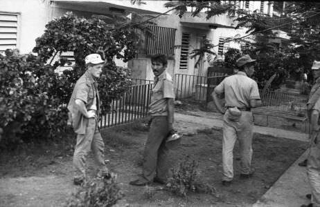 030. 1987-1989. ПХД в Нарокко. Старшина руководит работами.