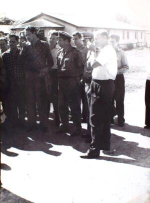 191. Конец 1963 года. Церемония передачи кубинцам торпедных катеров типа «Комсомолец». Фото