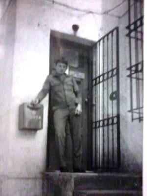 227. 1981-1983. На почте в политотделе, фото 2