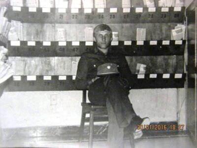 231. 1981-1983. На почте в политотделе, фото 6