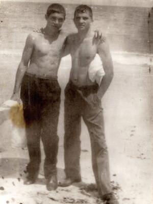 1975-1977. Колодин и Задко, 3 танковая рота