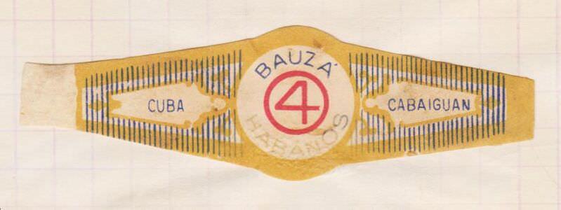 1968-1969. Коллекция наклеек на сигары, 8-ой экземпляр