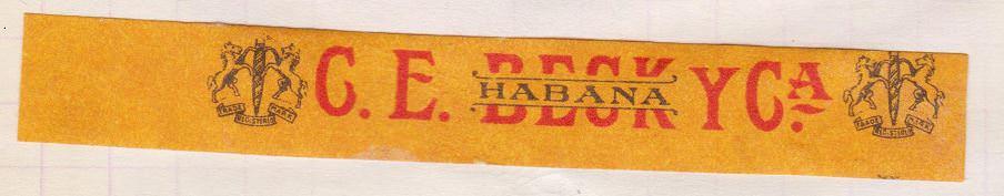 1968-1969. Коллекция наклеек на сигары, 21 экземпляр