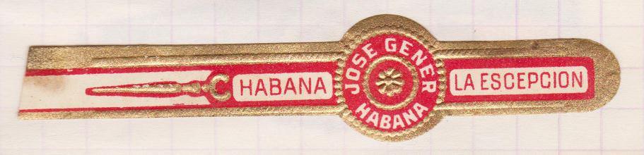 1968-1969. Коллекция наклеек на сигары, 38 экземпляр