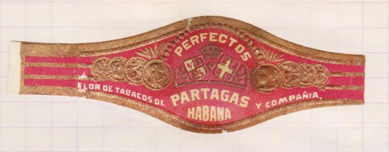 1968-1969. Коллекция наклеек на сигары, 40 экземпляр