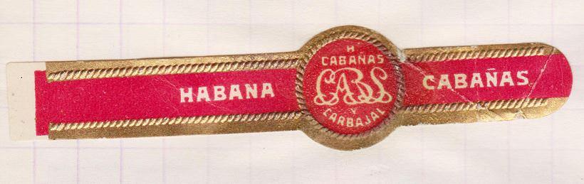 1968-1969. Коллекция наклеек на сигары, 44 экземпляр