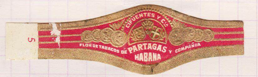1968-1969. Коллекция наклеек на сигары, 61 экземпляр