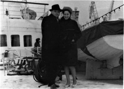 002. Малков Здрав Николаевич и его супруга, Малкова Нина Ивановна