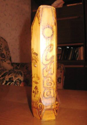 Ваза из бамбука, фото 2