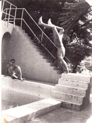 190. 1978-1979. Бассейн в зоне отдыха «Чайка»